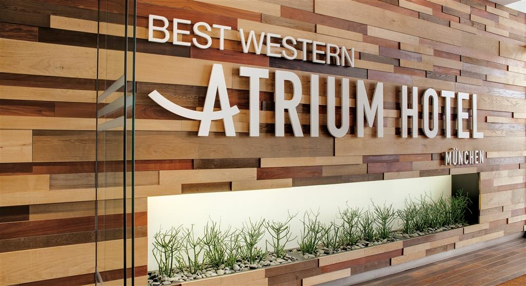 Best Western Atrium Hotel - Vista exterior