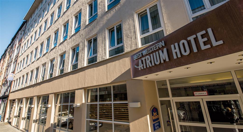 Best Western Atrium Hotel - Außenansicht