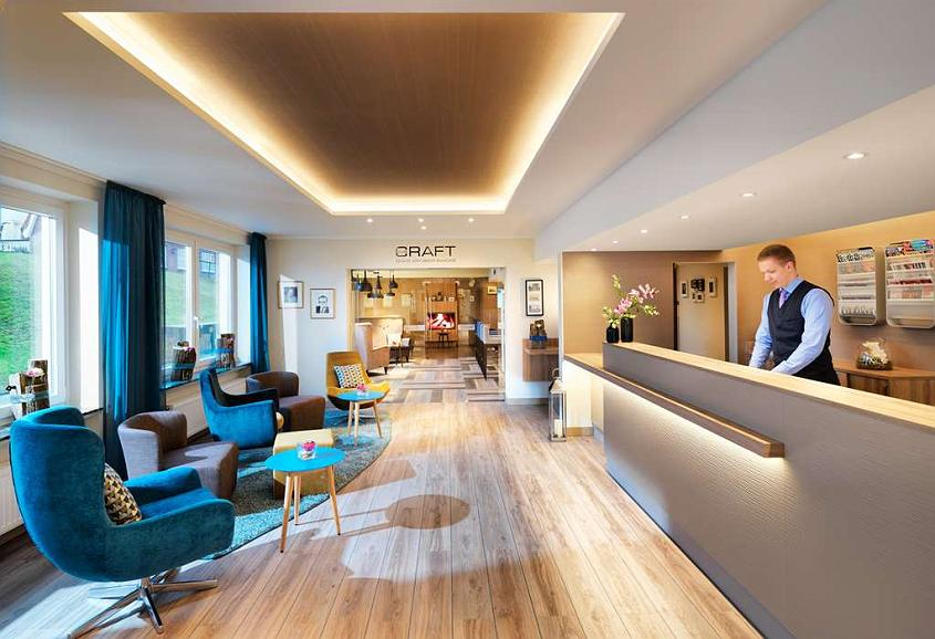 Best Western Hotel Das Donners - Reception desk