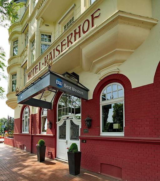 Best Western Hotel Kaiserhof - Vista exterior