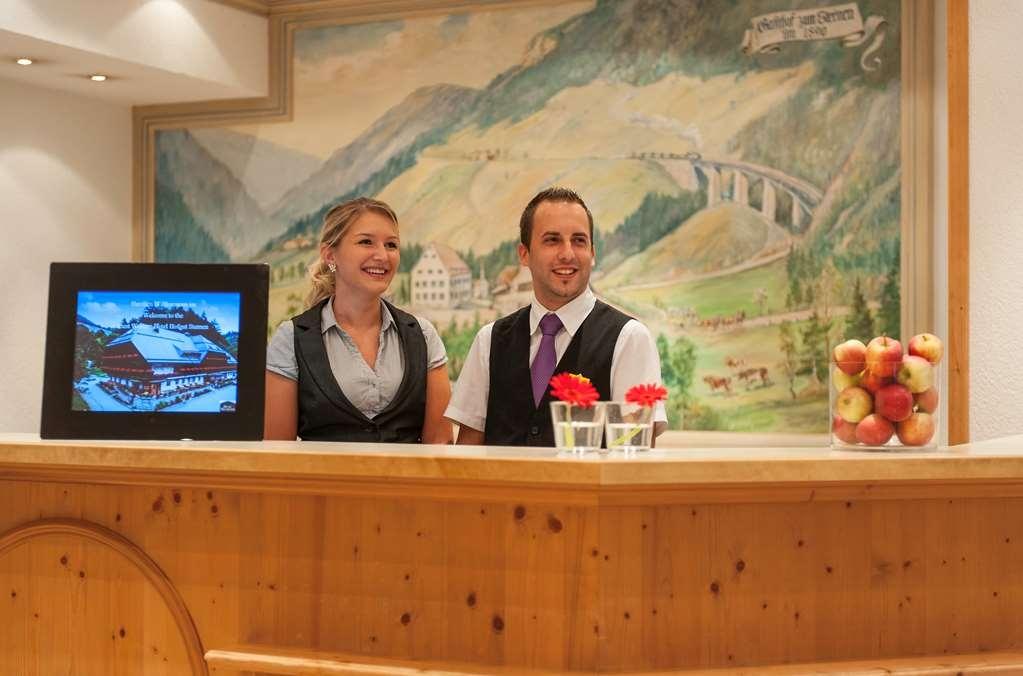 Best Western Hotel Hofgut Sternen - Vue du lobby