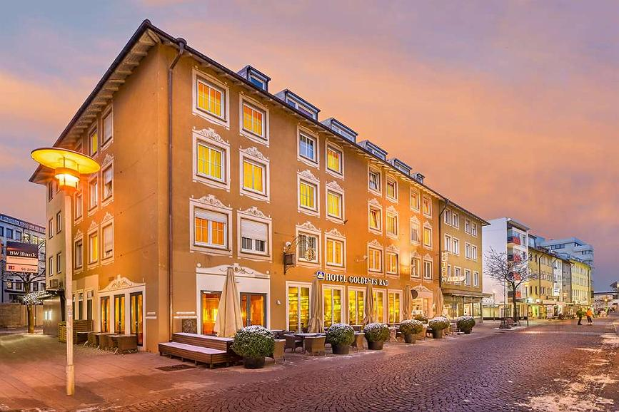 Best Western Hotel Goldenes Rad - Façade