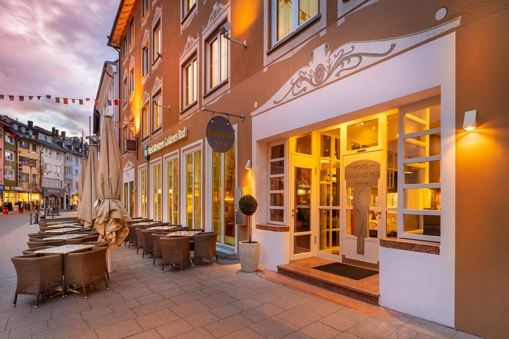 Best Western Hotel Goldenes Rad - Facciata dell'albergo