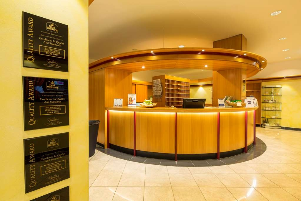 Best Western Plus Hotel Steinsgarten - Reception