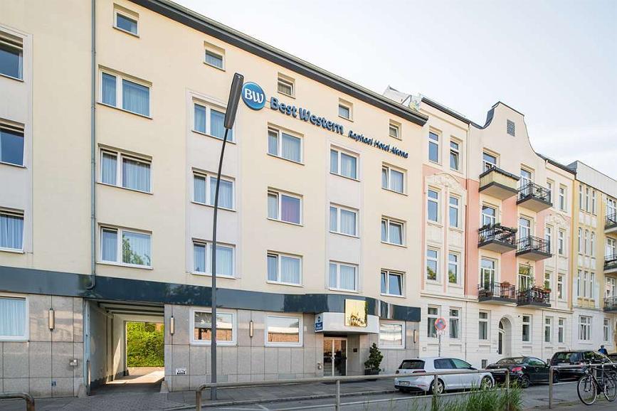Best Western Raphael Hotel Altona - Facciata dell'albergo
