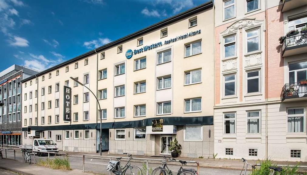 Best Western Raphael Hotel Altona - Aussenansicht