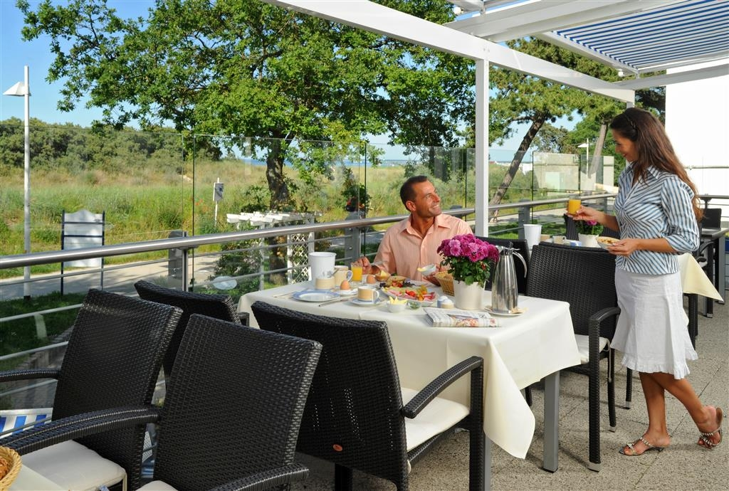 Best Western Hanse Hotel Warnemuende - Terraza