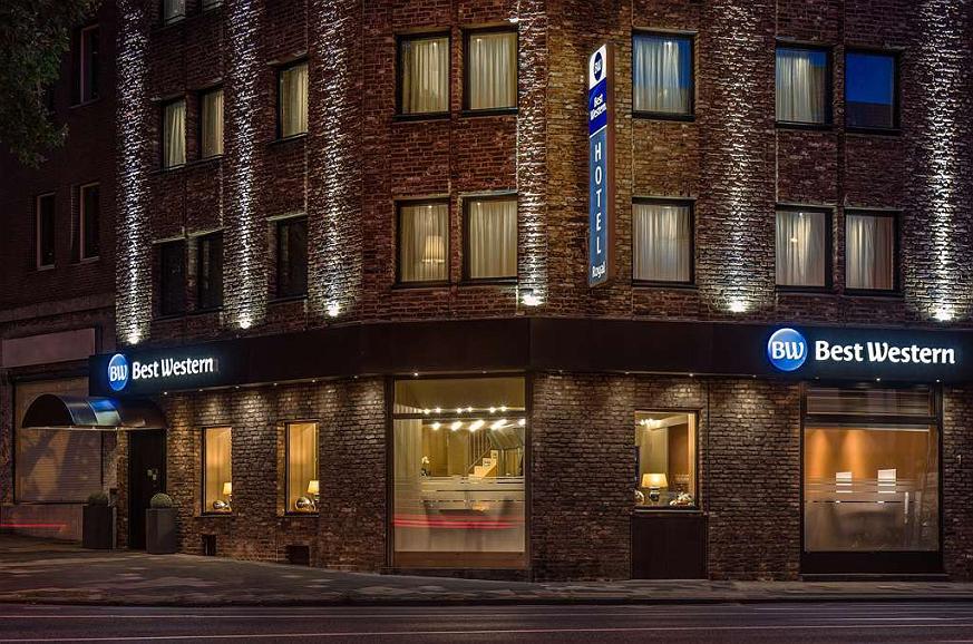 Best Western Hotel Royal - Vista exterior