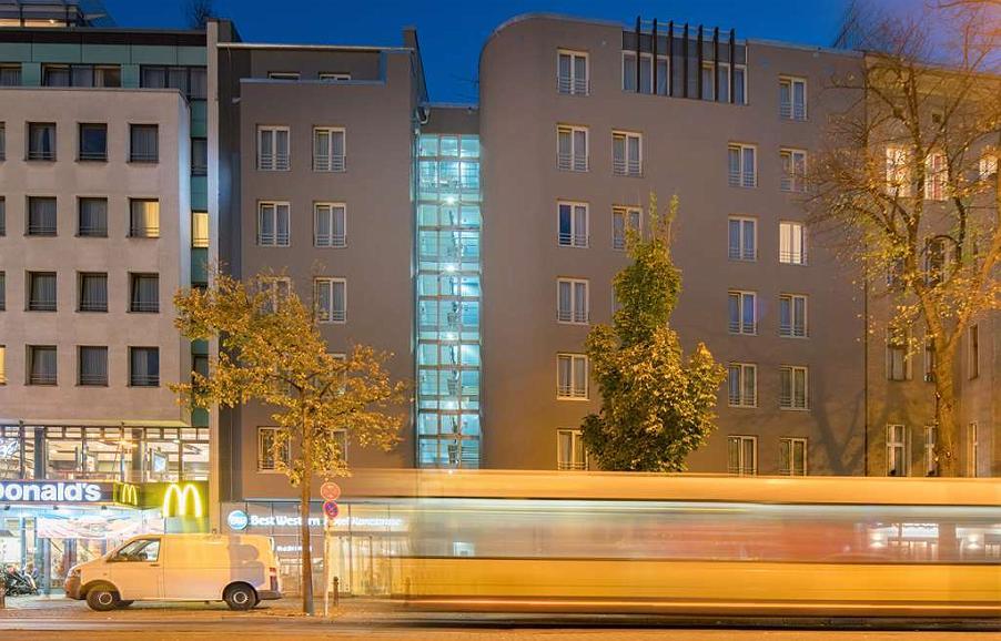 Best Western Hotel Kantstrasse Berlin - Area esterna
