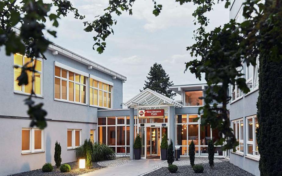 Best Western Plus Atrium Hotel - Vista exterior