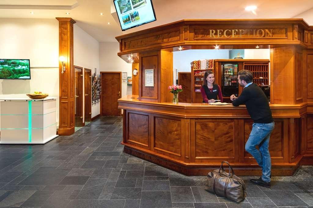 Best Western Ahorn Hotel Oberwiesenthal - Vue du lobby