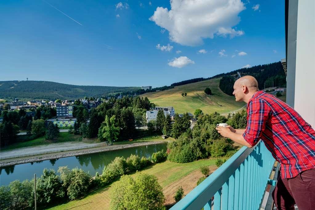 Best Western Ahorn Hotel Oberwiesenthal - Balcony View