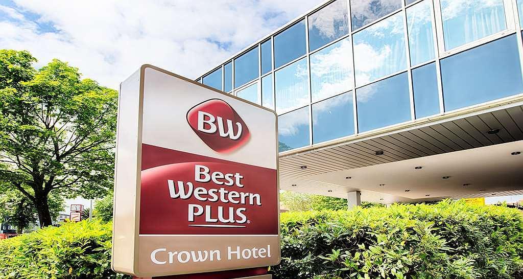 Best Western Plus Crown Hotel - Vista exterior