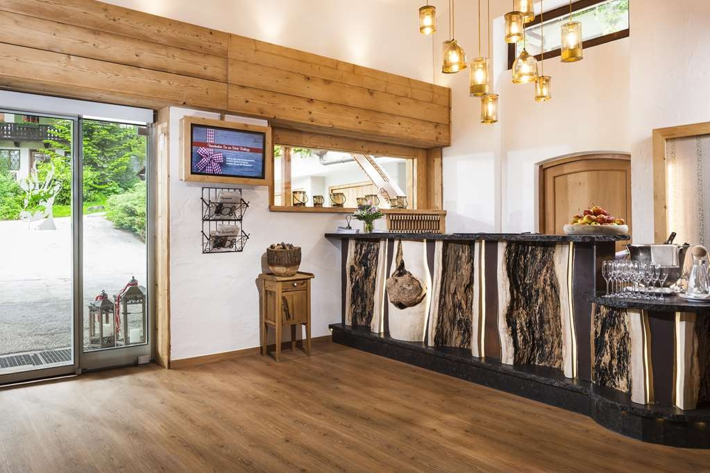 Berghotel Rehlegg, BW Premier Collection - Vue du lobby