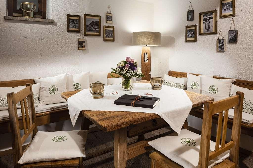 Berghotel Rehlegg, BW Premier Collection - Restaurant / Etablissement gastronomique