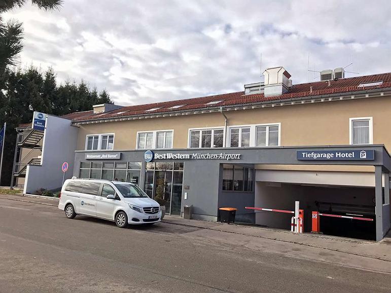 Best Western Hotel Muenchen Airport - Aussenansicht