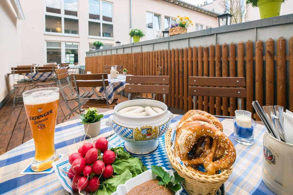 Best Western Hotel Muenchen Airport - terrace