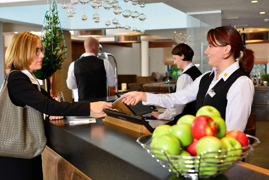 Best Western Plus Hotel Erb - Reception Desk, Hotel Lobby, Concierge Desk, Check In and Check Out, Express Check Out