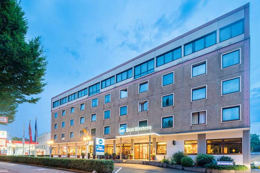 Best Western Hotel Hamburg International - Außenansicht