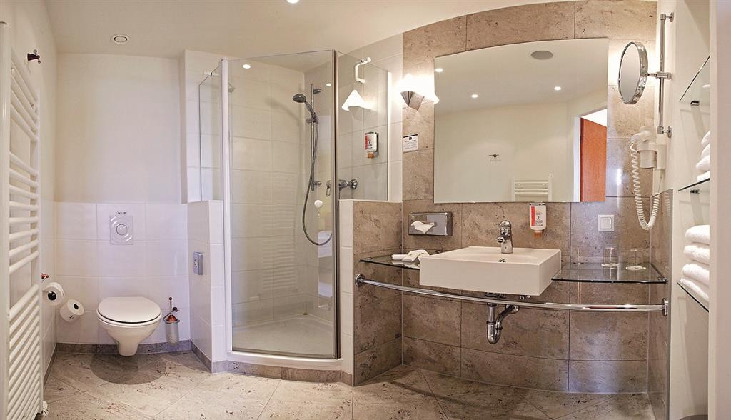 Best Western Premier Airporthotel Fontane BERlin - Salle de bains