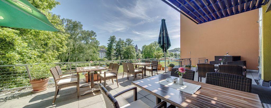 Best Western Hotel Wetzlar - Terrasse