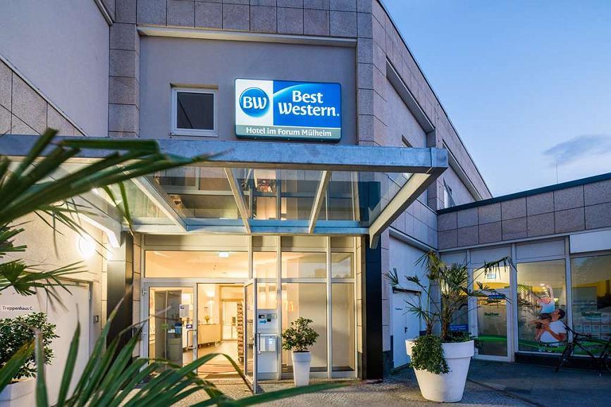 Best Western Hotel Im Forum Muelheim - Area esterna