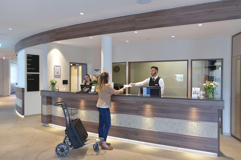 Best Western Queens Hotel Pforzheim-Niefern - Vue du lobby
