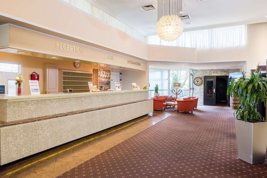 Best Western Leoso Hotel Leverkusen - Vista del vestíbulo