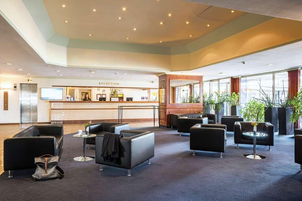 Best Western Leoso Hotel Ludwigshafen - Vista del vestíbulo