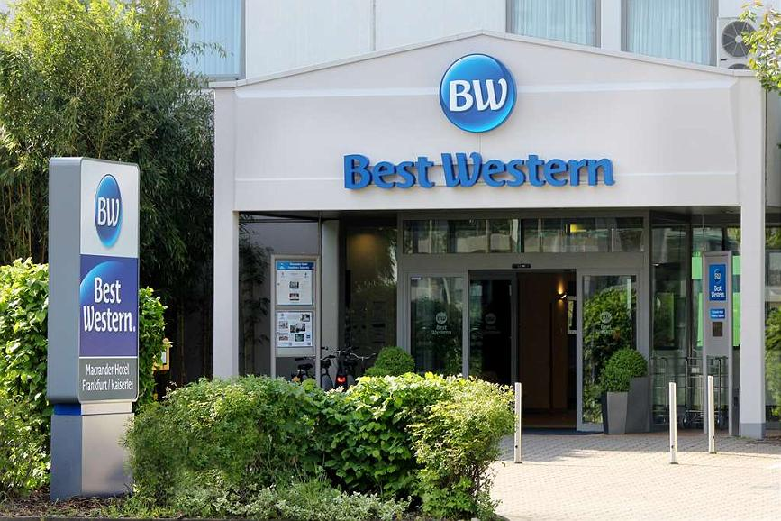 Best Western Macrander Hotel Frankfurt/Kaiserlei - Area esterna