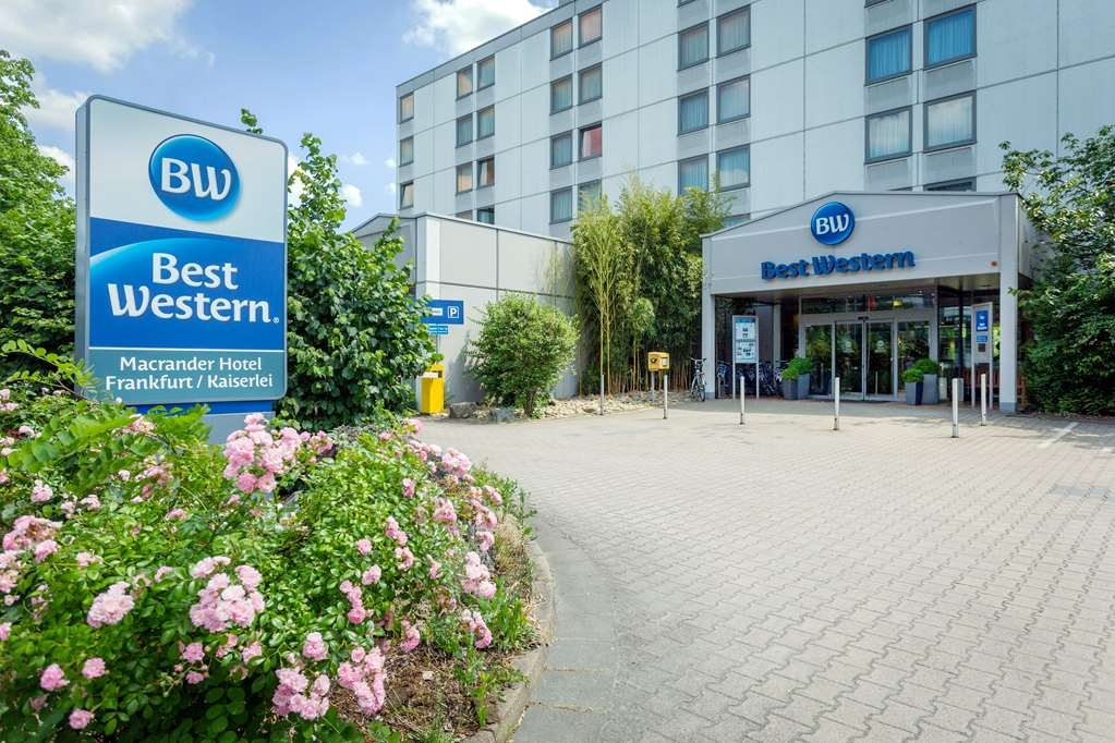 Best Western Macrander Hotel Frankfurt/Kaiserlei - Façade