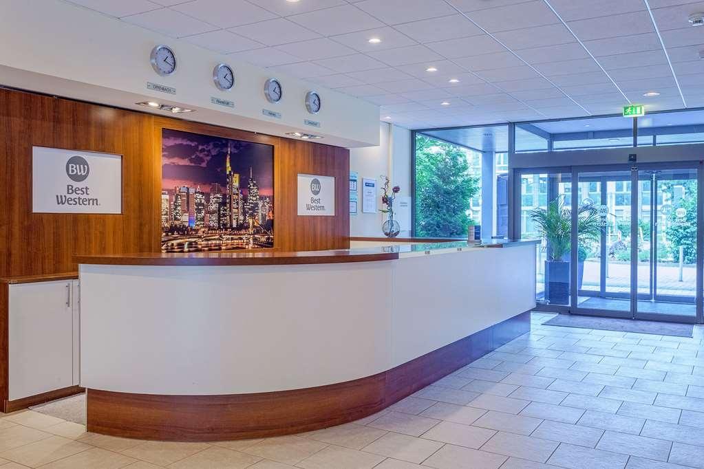 Best Western Macrander Hotel Frankfurt/Kaiserlei - Lobbyansicht