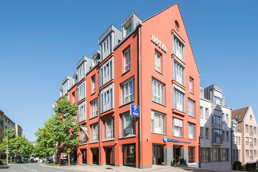 Best Western Hotel Am Strassberger Tor - Aussenansicht