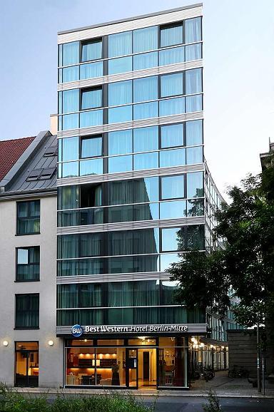Best Western Hotel Berlin-Mitte - Aussenansicht