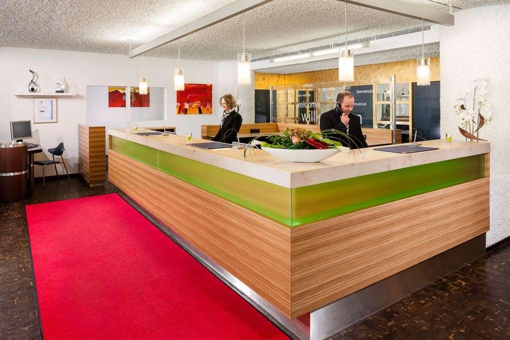 Best Western Premier Parkhotel Bad Mergentheim - Reception Desk