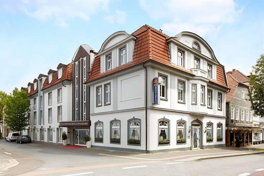 Best Western Hotel Lippstadt - Aussenansicht