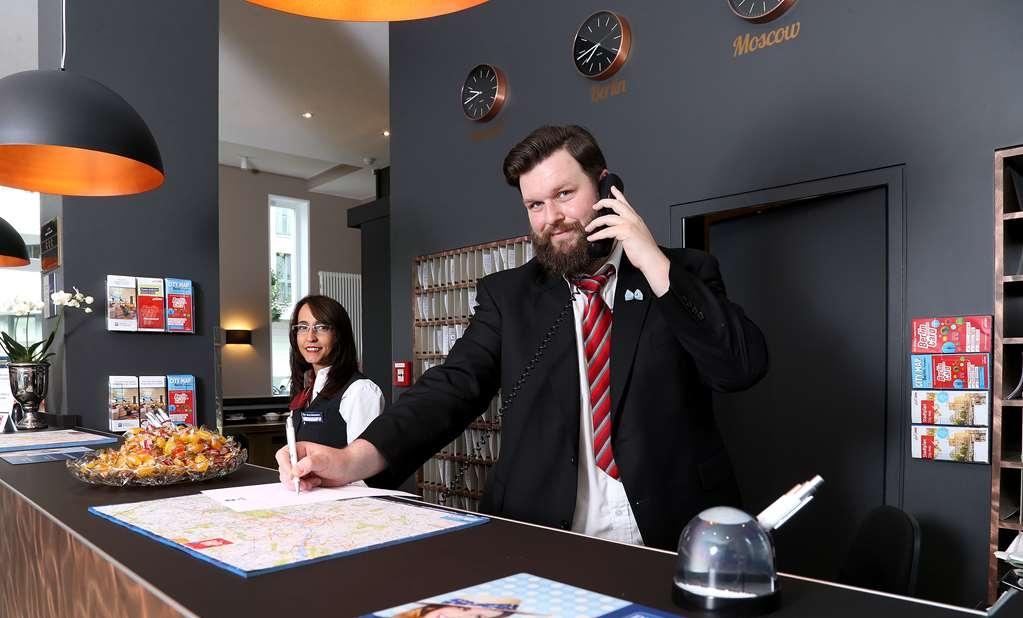 Best Western Hotel am Spittelmarkt - Vue du lobby