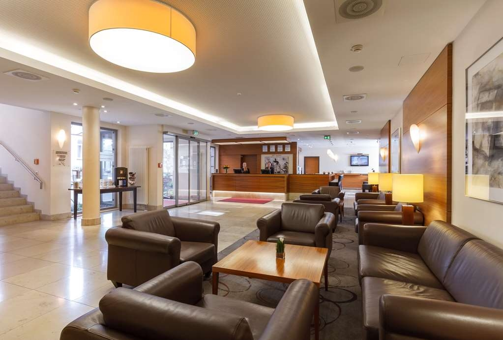 Best Western Hotel Bamberg - Vista del vestíbulo