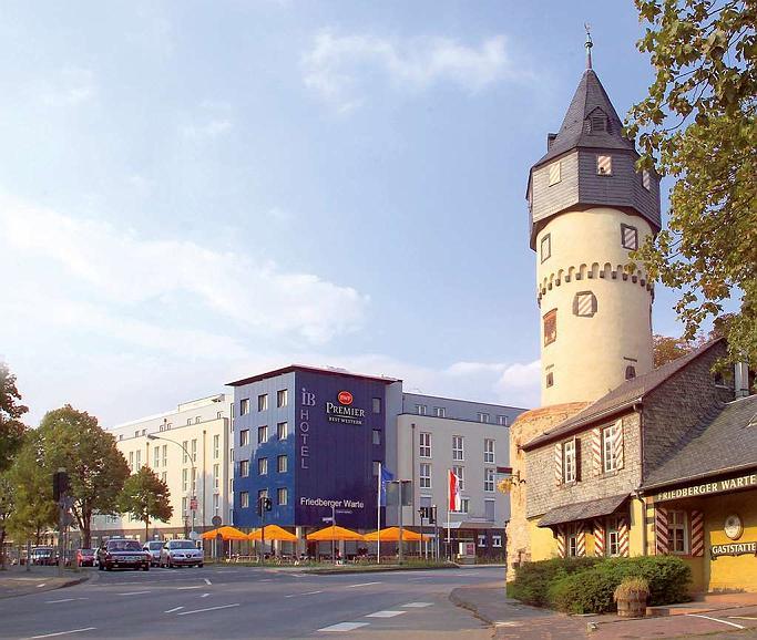 Best Western Premier IB Hotel Friedberger Warte - Aussenansicht
