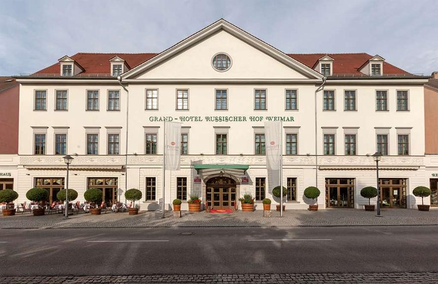 Best Western Premier Grand Hotel Russischer Hof - Area esterna