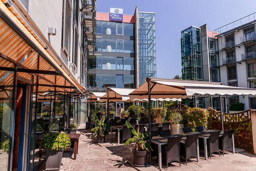 Best Western Plazahotel Stuttgart-Ditzingen - Area esterna