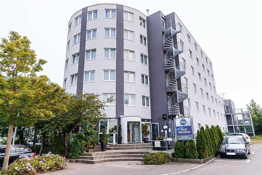 Best Western Plazahotel Stuttgart-Filderstadt - Vista exterior