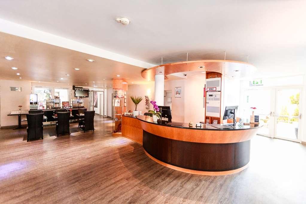 Best Western Plazahotel Stuttgart-Filderstadt - Vue du lobby