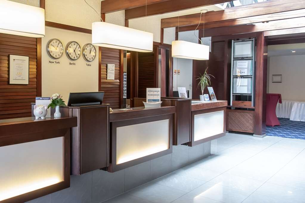 Best Western Hotel Heide - reception