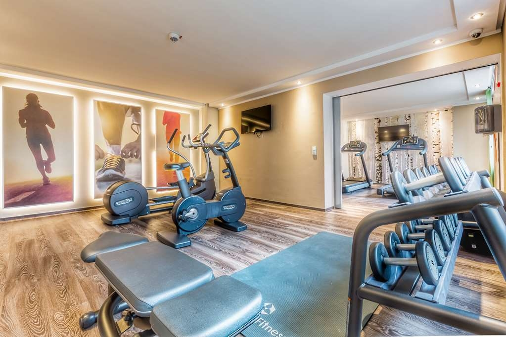 Best Western Parkhotel Ropeter - Fitness room