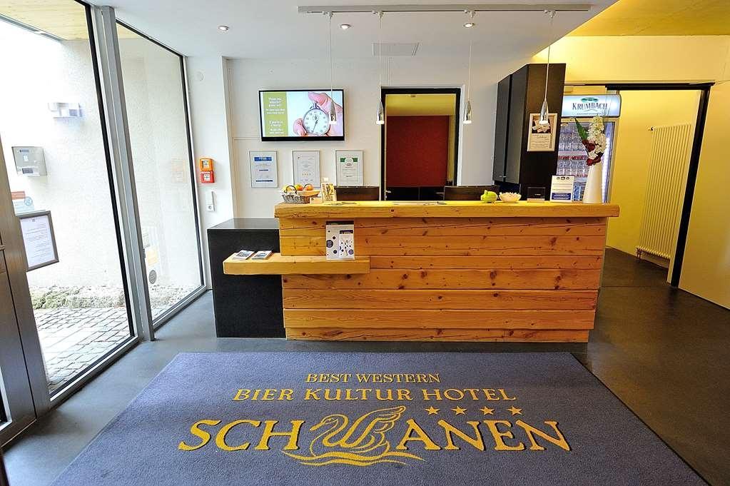 Best Western Plus BierKulturHotel Schwanen - Lobbyansicht