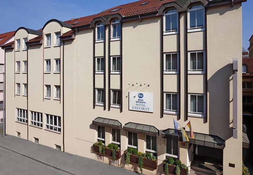 Best Western Hotel Favorit - Aussenansicht