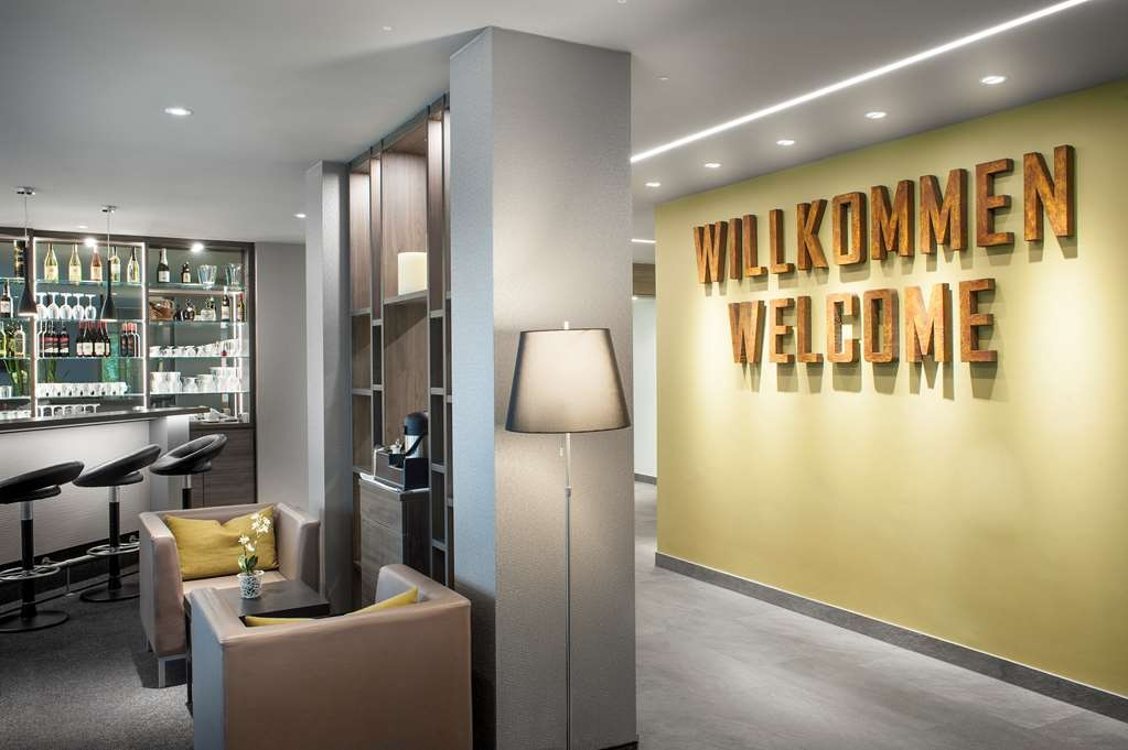 Best Western Hotel Favorit - Vista del vestíbulo