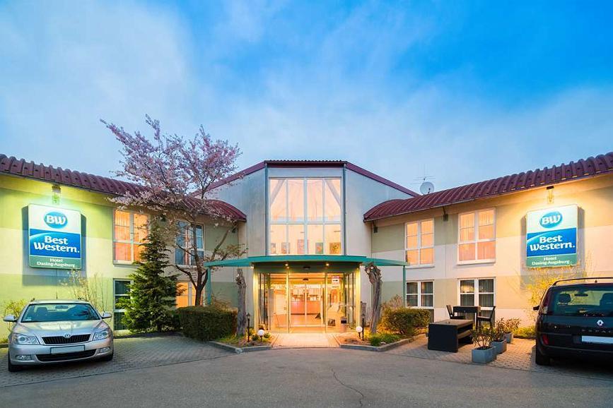 Best Western Hotel Dasing Augsburg - Aussenansicht