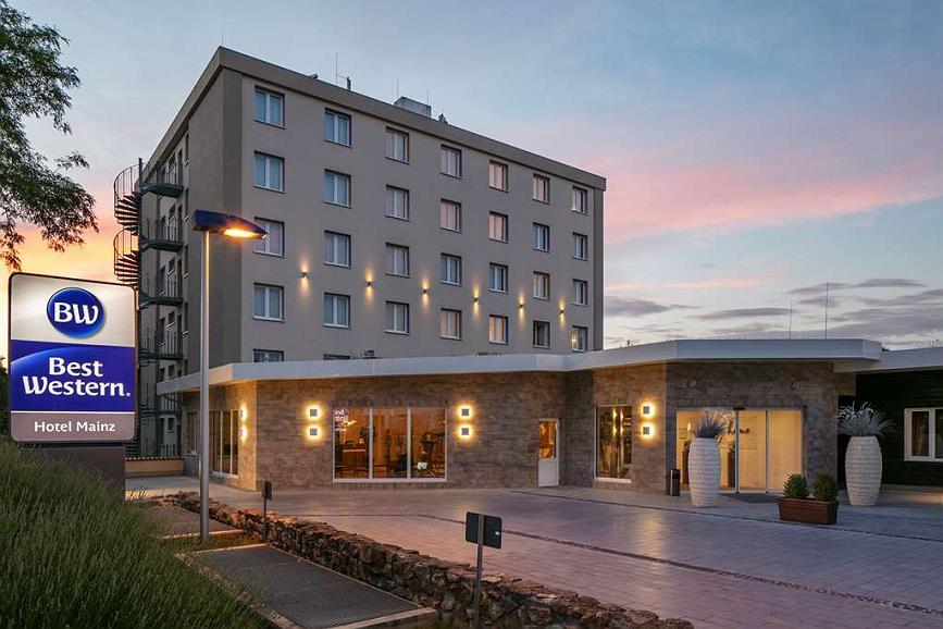 Best Western Hotel Mainz - Vista exterior